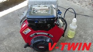 Vanguard V Twin 16hp Briggs And Stratton Manco Gokart Youtube