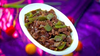 Dhe Ruchi EP-84 21/02/17 Chilli Beef And Beef Omlet Recipe