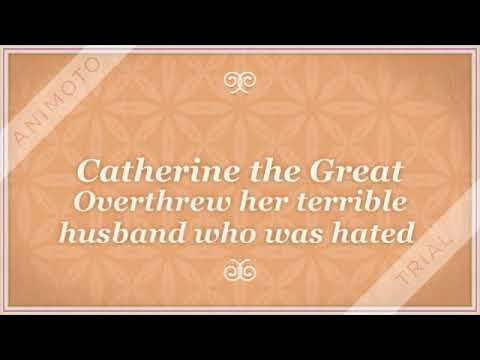 Catherine the Great-Most Absolute Monarch