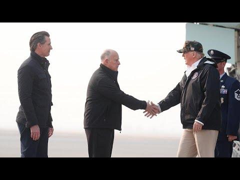 ترامب يصل إلى كاليفورنيا والسلطات تتابع مهمة البحث عن ألف مفقود…  - نشر قبل 3 ساعة
