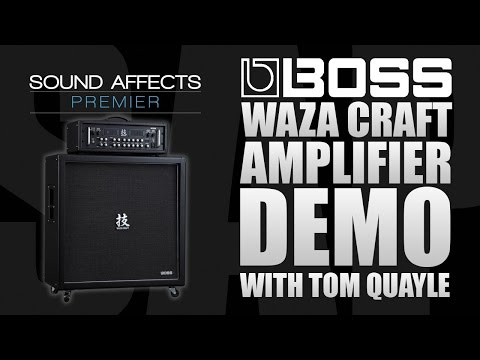 Boss Waza Craft Amplifier Head & Cab Demo Review