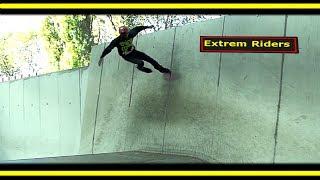 "Gambar cover Wallride ""Tuto"" Vidéo démonstration N°1 (Roller skate Street Pro by Sakun Diako (parkour 2015)paris"