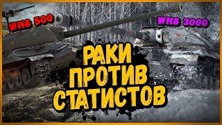 СТАТИСТЫ ПРОТИВ РАКОВ - ИС-7 против ИС-3 | World of Tanks