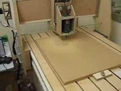 My Homemade cnc Router - YouTube