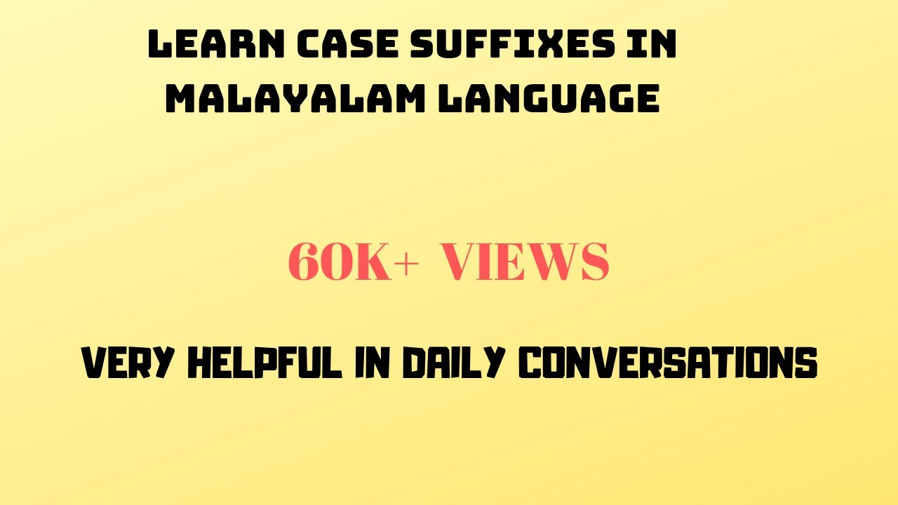 Learn Malayalam Alphabets Through Hindi Devanagari ...