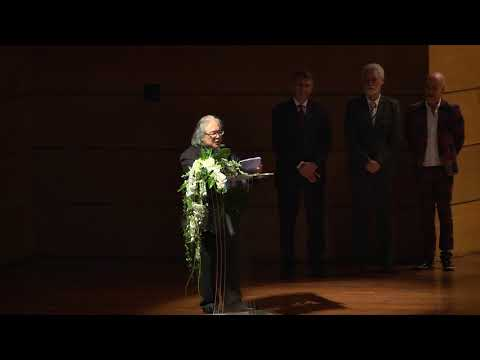 European Cultural Achievement 2017 Award Acceptance Speech