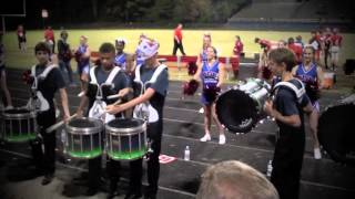 Sanderson High School Marching Spartans Drum Line
