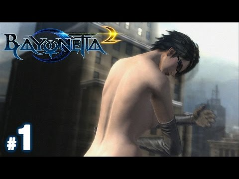 Bayonetta 2 Walkthrough Part 1 She Naked Youtube