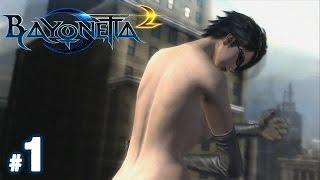 Bayonetta 2 Walkthrough Part 1 - SHE NAKED!!!!!