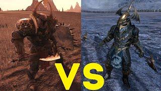 Стражи глубин vs Избранные Total War Warhammer 2. тесты юнитов v1.5.0.