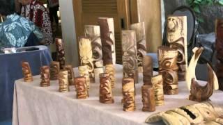 Wood Carving At Sheraton Oahu Hawaii