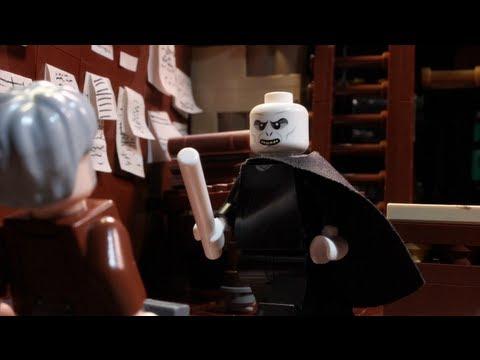 LEGO Voldemort Goes Wand Shopping