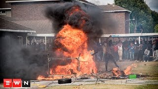 University of the Western Cape students torched buildings on Wednesday, claiming management had failed to adequately address their needs. Students have given management an ultimatum – address their demands or the unrest will continue.