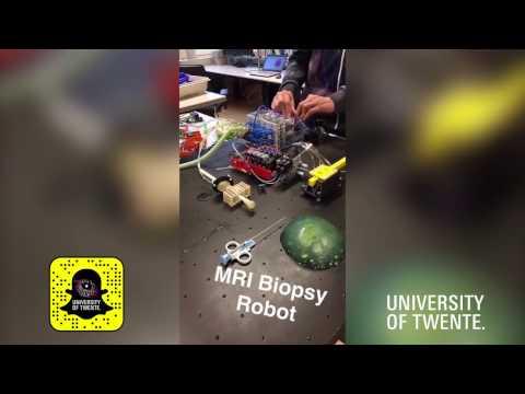 Snapchat Story: Open Lab In University Of Twente's RAM Lab