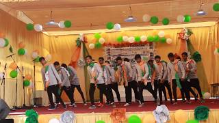 Awesome republic day dance by #boys of sis