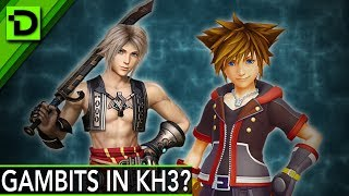Should Kingdom Hearts Have a Gambit System Like Final Fantasy XII?