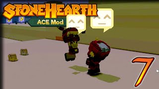 Improved Defences – StoneHearth 1.1 + ACE Gameplay – Let's Play Part 7