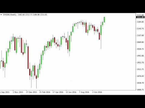S&P 500 Index forecast for the week of November 28 2016, Technical Analysis