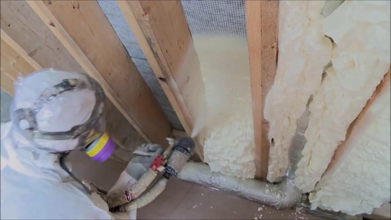 Icynene Spray Foam Insulation In The Uk