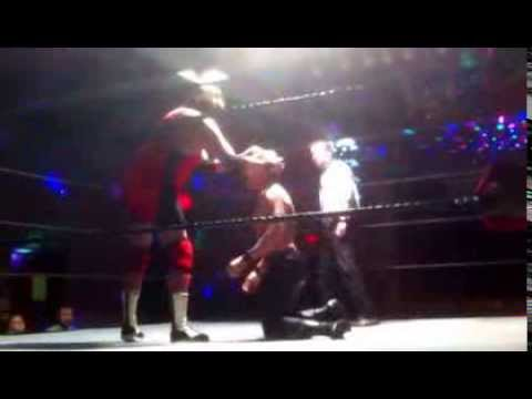 Kevin Cannon vs. Red Thunder