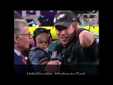 Philadelphia Eagles Praise God as Super Bowl Champions (2018)