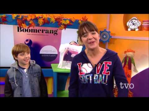 Christian Disteo performs Boomerang and  live on TVO KIDS