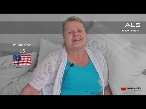 ALS patient from USA stem cells treatment