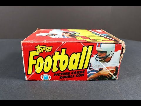 1981 Topps Football Wax Pack! My Best Packs Yet ! Joe Montana Rookie Year