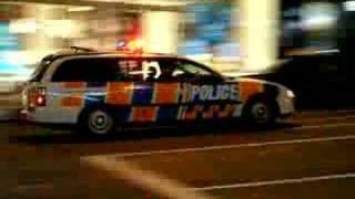 Holden Commodore VY Police dog wagon, Victoria St, 19 Feb 07