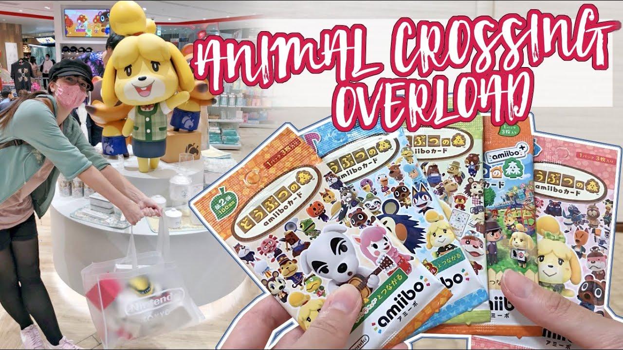 Shoppen für TeleKonga im Nintendo Store 🌱 Animal Crossing Amiibo Karten Unboxing [ENG Sub]