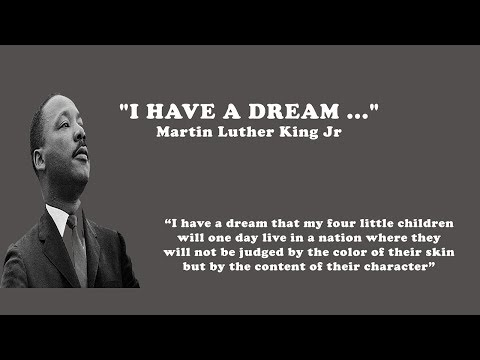 I Have a Dream    Martin Luther King Jr    March on Washington   August 28, 1963