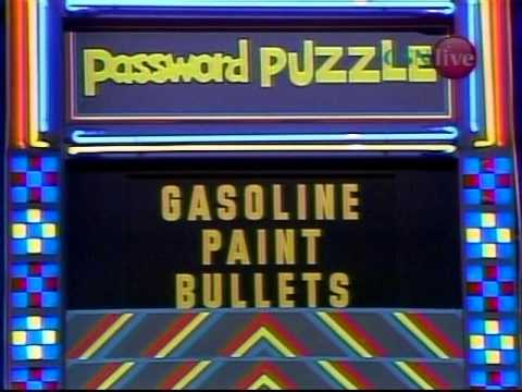 Password Plus  Gene Rayburn & Wink Martindale February 9, 1981