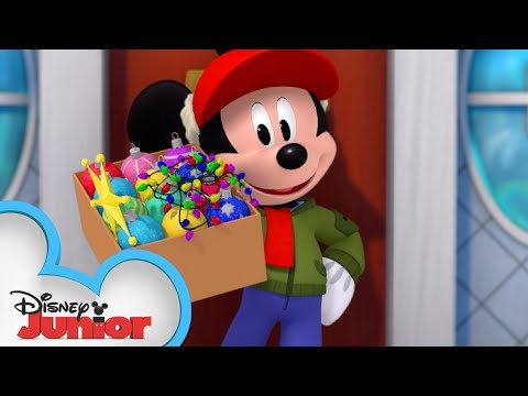 the-lights-before-christmas-🎄-|-mickey-mouse-hot-diggity-dog-tales-|-disney-junior