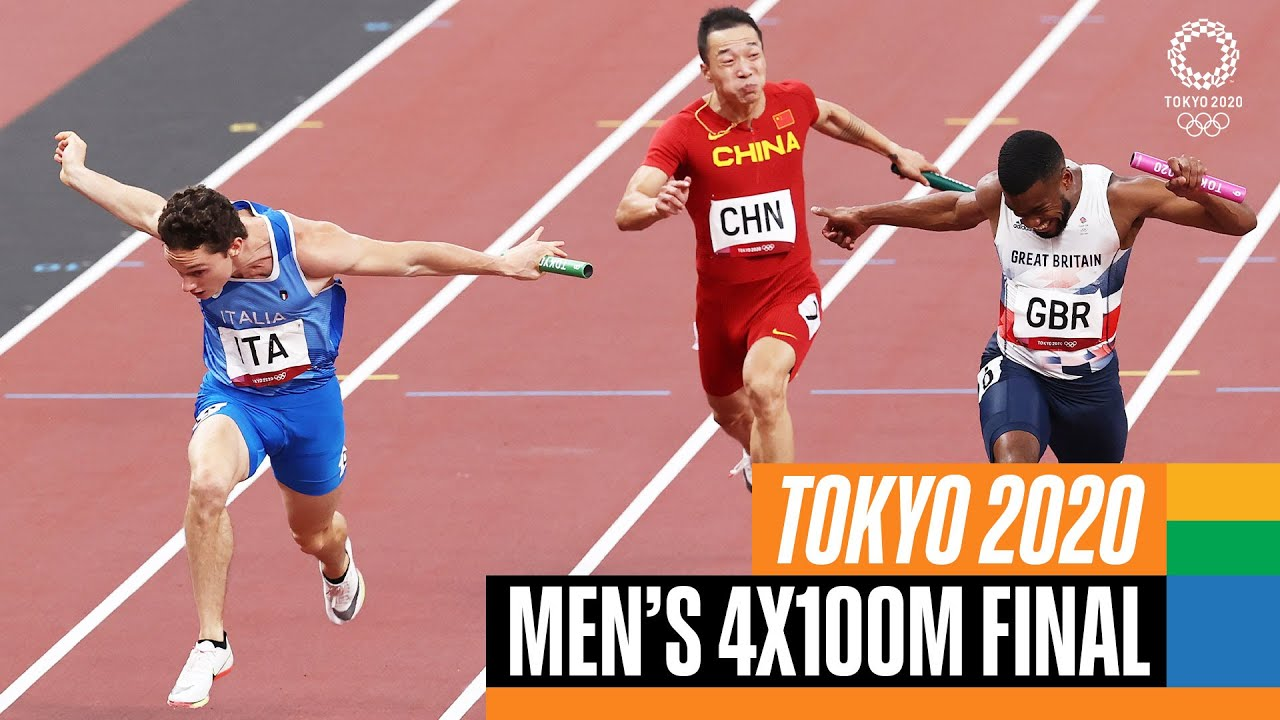 Download 🏃♂️ Men's 4x100m Final | Tokyo Replays