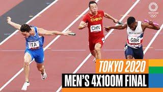 🏃♂️ Men's 4x100m Final | Tokyo R