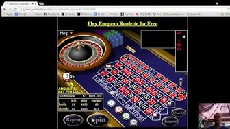 European Roulette FREE Play with NO registration and NO downloading
