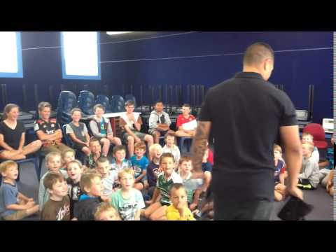 Aaron Smith @ Halcombe School