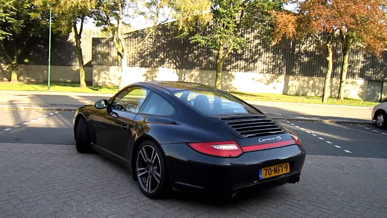 porsche carrera 4s 997 startup fast acceleration youtube. Black Bedroom Furniture Sets. Home Design Ideas