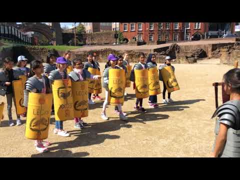 Manchester High School for Girls' Prep pupils learn about the Romans