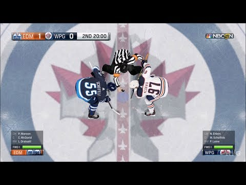 NHL 18 - Winnipeg Jets vs Edmonton Oilers - Gameplay (HD) [1080p60FPS]