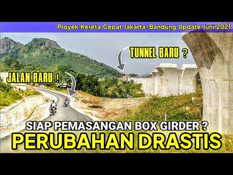 Proyek Jalur Kereta Cepat Jakarta Bandung KCIC KCJB 2021