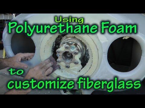 Using Polyurethane Foam to Modify Fiberglass Aircraft Parts