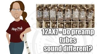 12AX7 - Yapmak farklı yükseltmektir tüpler sonic bir fark yaratır? Behringer gelen Mullard için
