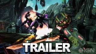 transformers fall of cybertron gameplay the first mission