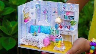 DIY Miniature Girl Dollhouse Room