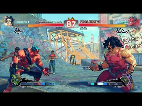 Ultra Street Fighter IV Gameplay Pc 1080p