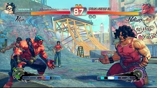 Ultra Street Fighter IV Gameplay Pc 1080p