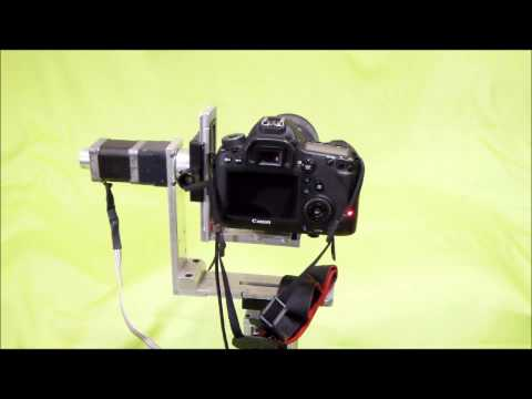Diy pan tilt camera mount doovi for Motorized video camera mount