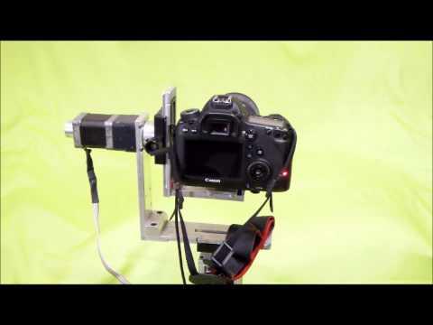 Diy pan tilt camera mount doovi for Motorized video camera mount