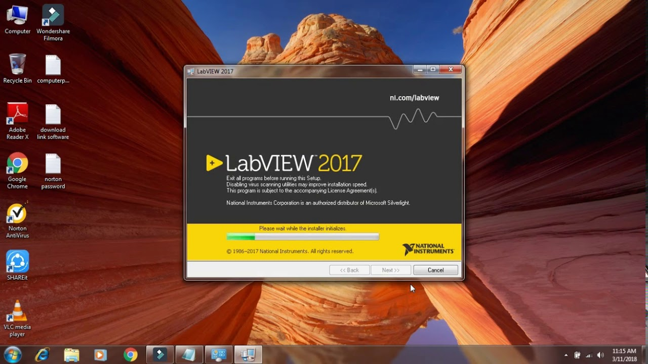 How to install labview 2017
